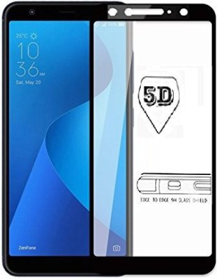 NaturalBuy Edge To Edge Tempered Glass for OPPO A5 (5D Tempered glass)(Full Glue)(Pack of 1)