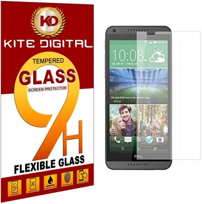 KITE DIGITAL Tempered Glass Guard for HTC DESIRE 816(Pack of 1)