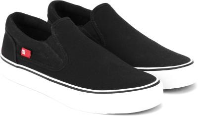 DC Slip On Sneakers For Men(Black)