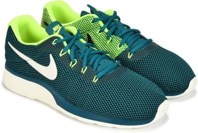 Nike TANJUN RACER Sneakers For Men(Green, Blue) 1