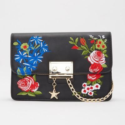 Miss CL Black Sling Bag at flipkart
