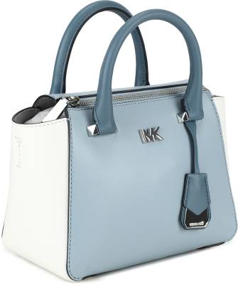 Michael Kors Women Casual White, Blue Genuine Leather Sling Bag