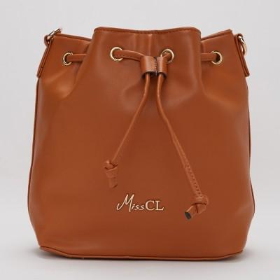 Miss CL Tan Sling Bag at flipkart