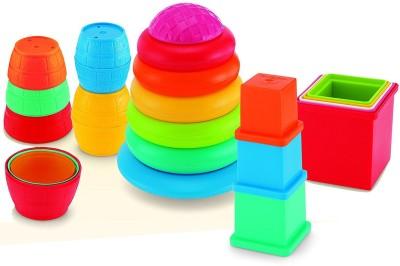 Funskool Giggles Stack 'N' Nest(Multicolor)