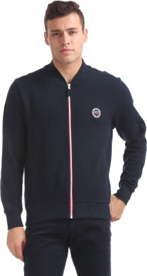 U.S. Polo Assn Full Sleeve Embellished Men Sweatshirt at flipkart