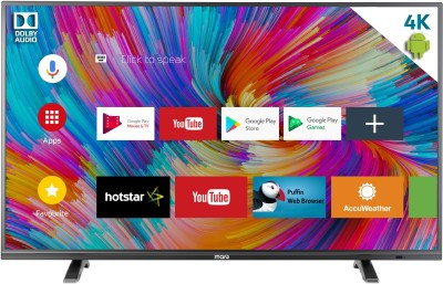 MarQ by Flipkart 165cm (65 inch) Ultra HD (4K) LED Smart TV(65SAUHD) (MarQ by Flipkart)  Buy Online