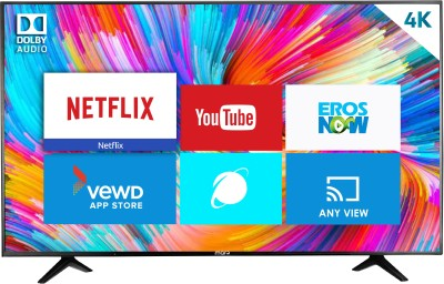 MarQ by Flipkart 140cm (55 inch) Ultra HD (4K) LED Smart TV(55HSUHD) (MarQ by Flipkart)  Buy Online