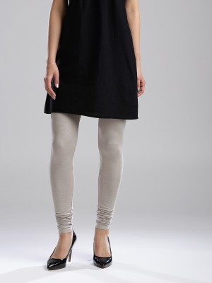 W Solid Women's Silver Tights