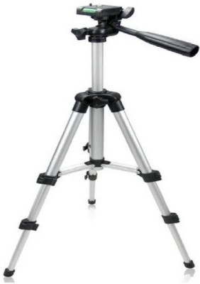 Spring Jump  Adjustable 3Way Head Mobile Phone Camera Stand Holder Tripod Tripod Tripod(Silver, Supports Up to 2000 g) 1