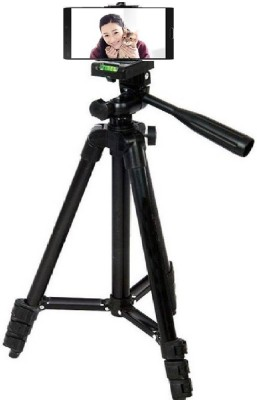 Spring Jump 3120 Tripod with mobile holder and carry bag Tripod(Black, Supports Up to 1500 g) 1
