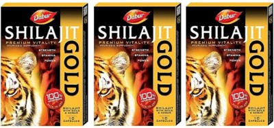 Dabur Shilajit with Gold and Kesar(60)