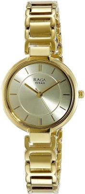 Titan2608YM01 Raga Viva 2 Analog Watch   For Women