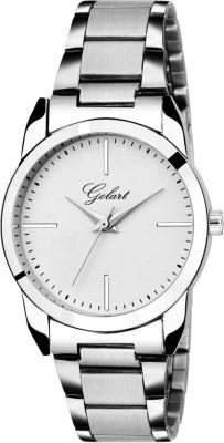 GOLART GT-2059 Silver Dial Party Elegant Watch  - For Women