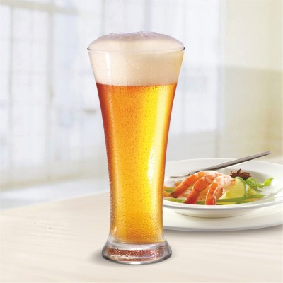 Afast Multi Purpose Beverage Tumbler Drinking Glass Set For Home & Bar Use ( Set Of 6) DR 18 Glass Set(Glass, 300 ml, Clear, Pack of 6)