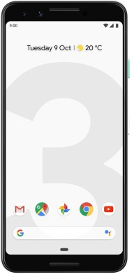 Google Pixel 3 (Clearly White, 128 GB)(4 GB RAM)