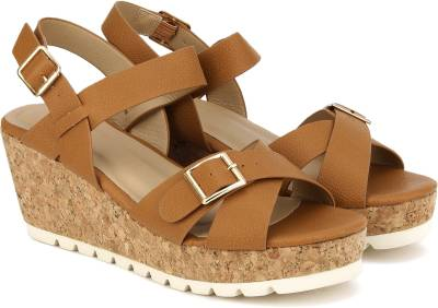 Carlton London Women TAN Wedges