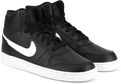 Nike EBERNON MID Mid Sneakers For Men(Black) 1