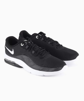 Nike AIR MAX ADVANTAGE 2 Running Shoes For Men(Black, Grey) 1