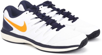 Nike AIR ZOOM Tennis Shoes For Men(White) 1