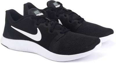 Nike FLEX CON Running Shoes For Men(Black) 1