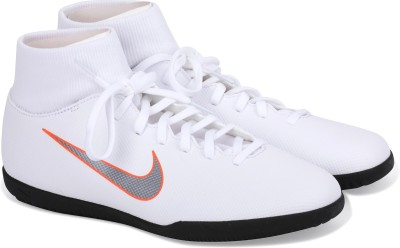 Nike SUPERFLY 6 CLUB IC Football Shoes For Men(White) 1