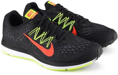 Nike NIKE ZOOM WIN Running Shoes For Men(Black) 1