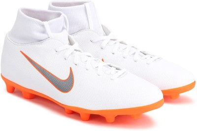 Nike SUPERFLY 6 CL Football Shoes For Men(White) 1