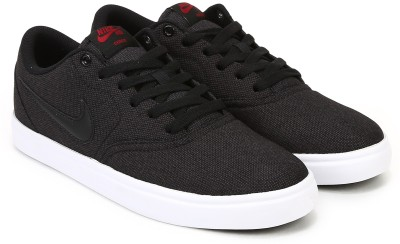 Nike SB CHECK SOLAR CNVS Sneakers For Men(Black) 1