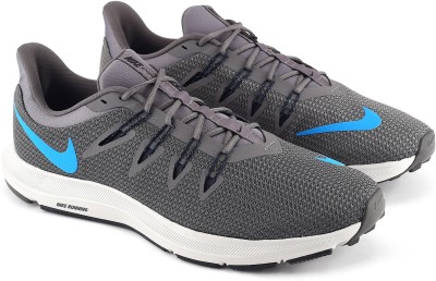 Complaciente acoplador Cooperativa  Nike NIKE QUEST 1.5 Walking Shoes For Men(Blue, Grey) - Price Pacific