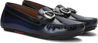 Uvanera by Ruosh 2907-SS17-W03B Loafers For Women(Blue) at flipkart