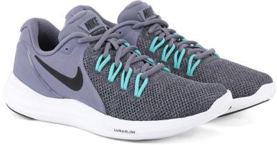 Nike NIKE LUNAR APPARENT Running Shoes For Men(Black) 1