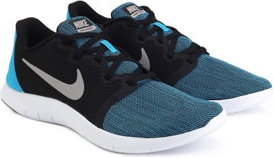 Nike FLEX CONTACT 2 Running Shoes For Men(Black, Blue) 1