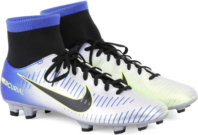 Nike MERCURIAL VICTORY VI DF NJR FG Football Shoes For Men(Blue) 1