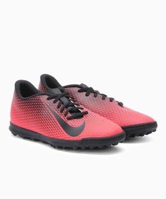 Nike NIKE BRAVATA Football Shoes For Men(Red, Black) 1