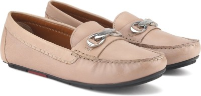 Uvanera by Ruosh 2907-SS17-W01A Loafer For Women(Beige) at flipkart