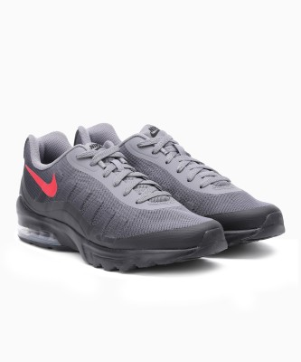 Nike NIKE AIR MAX Running Shoes For Men(Black, Grey) 1