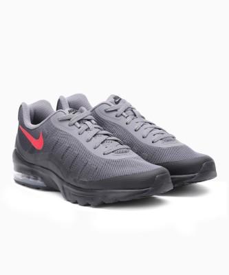 Nike NIKE AIR MAX Running Shoes For Men(Black, Grey) 1