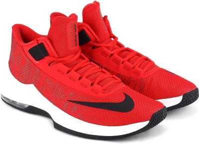 Nike AIR MAX INFURIATE 2 MID Basketball Shoes For Men(Red) 1