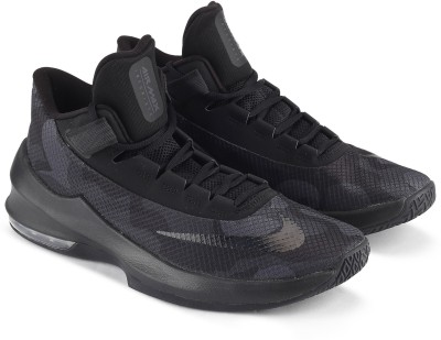 Nike AIR MAX INFUR Basketball Shoes For Men(Black)
