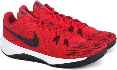 Nike ZOOM EVI Walking Shoes For Men(Red, Black) 1