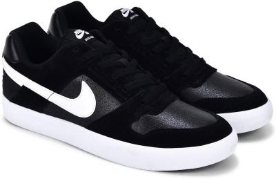 Nike SB DELTA FORCE VULC Sneakers For Men(Black) 1