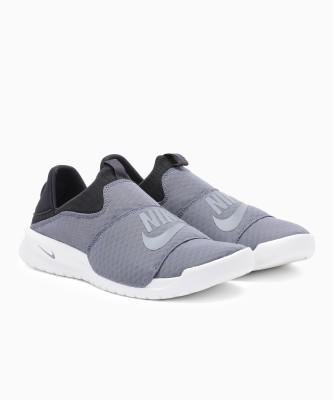 Nike BENASSI SLP Casuals For Men(Black, Grey) 1