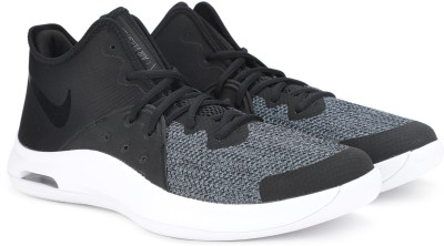 Nike AIR VERSITILE III Basketball Shoes For Men(Black, Grey) 1