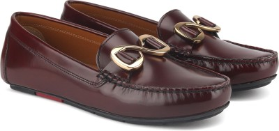 Uvanera by Ruosh 2907-SS17-W03C Loafers For Women(Red) at flipkart