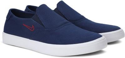 Nike SB PORTMORE II SLR SLP C Slip On Sneakers For Men(Blue) 1