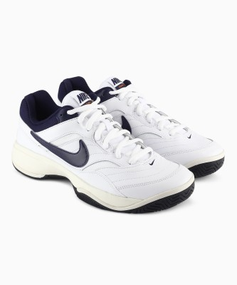 Nike NIKE COURT LI Tennis Shoes For Men(White) 1