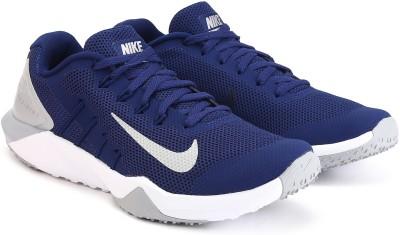 Nike RETALIATION TR 2 Training & Gym Shoes For Men(Blue, Grey) 1