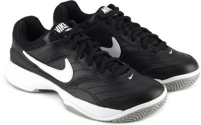 Nike COURT LITE Tennis Shoes For Men(Black) 1