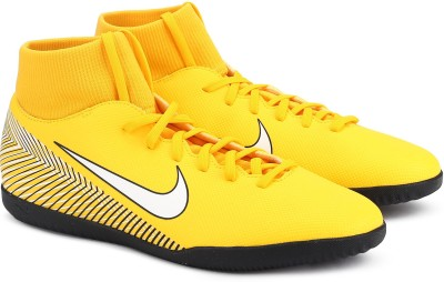 Nike SUPERFLY 6 CL Football Shoes For Men(Yellow) 1