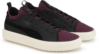 incredible prices new authentic best sale Puma PUMA Breaker Knit Baroque Sneakers For Men(Black, Purple)